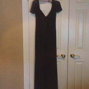 Formal wear black dress